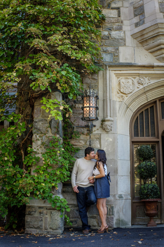 nj botanical gardens skyland manor engagement session