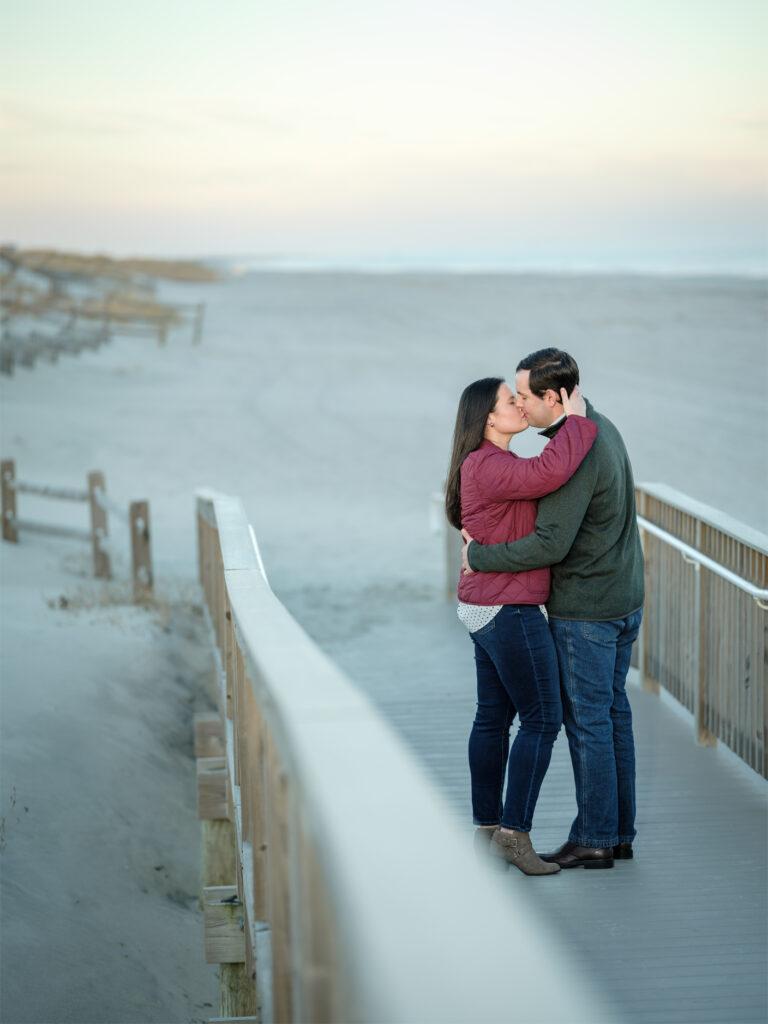 Stone Harbor NJ Engagement shoot