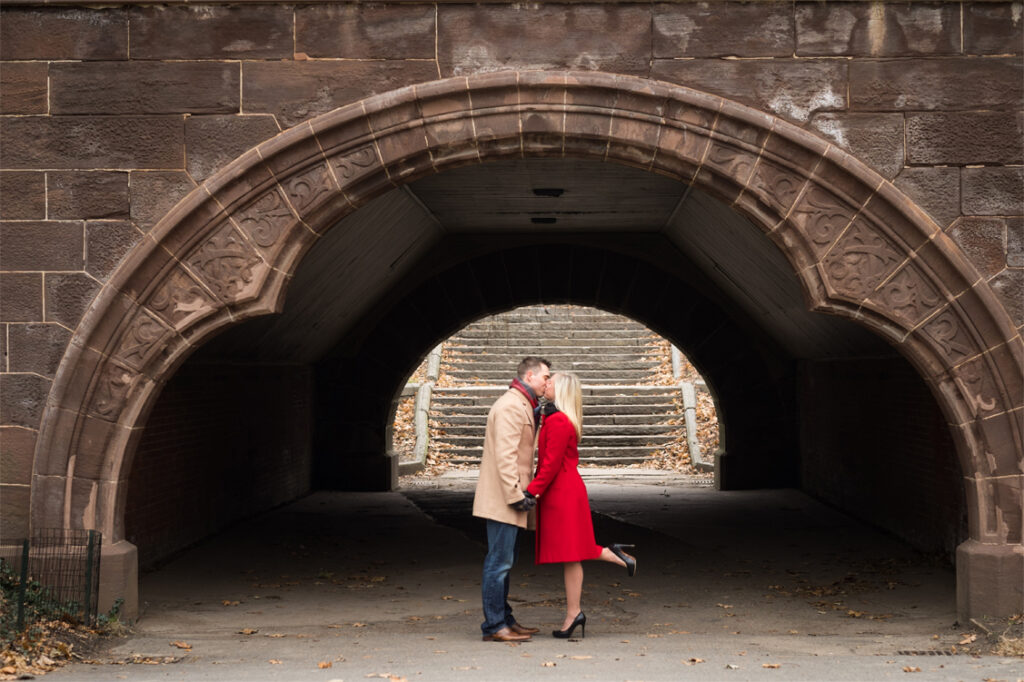 Central Park New York City Engagement Shoot