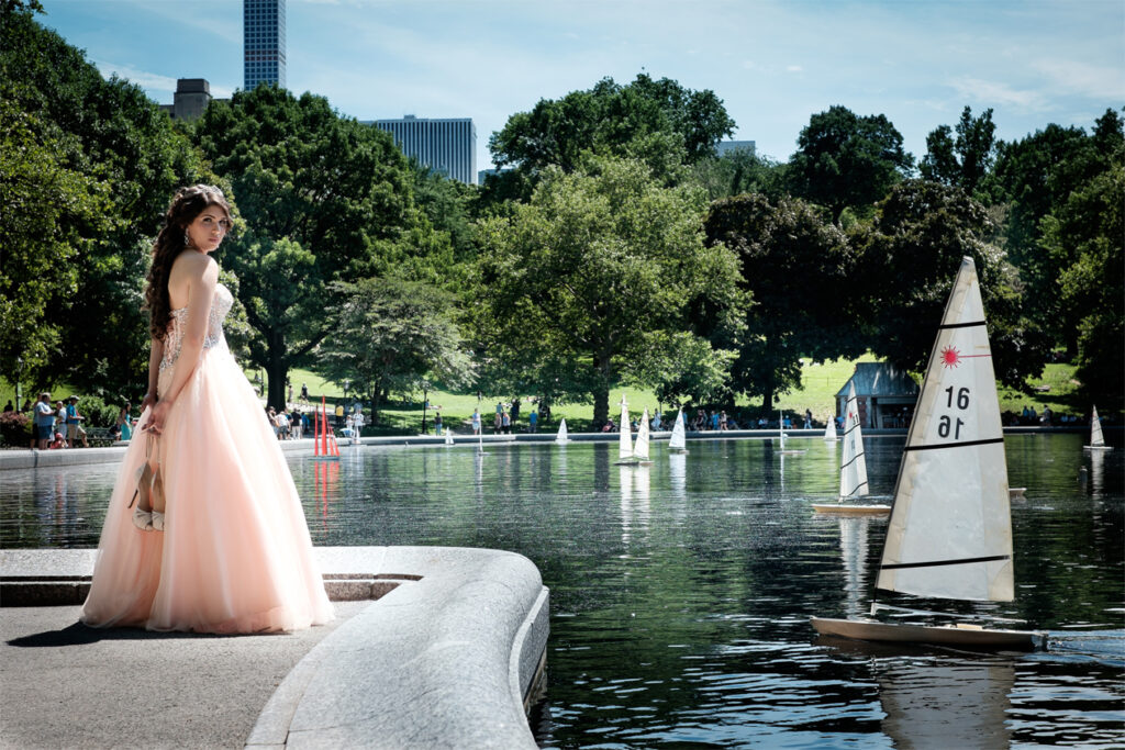 New Jersey Quinceanera Photographer Central Park,