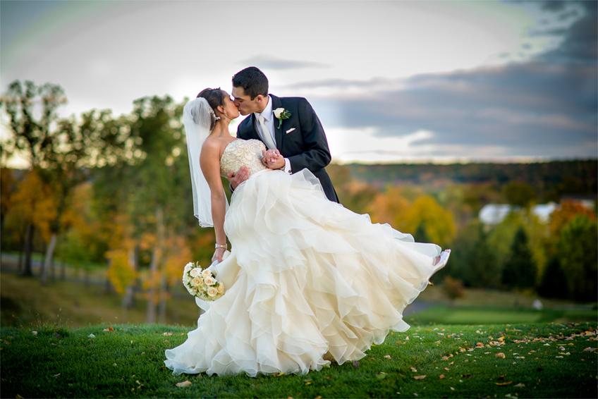 weddings photographs at the ridge at back brook, NJ