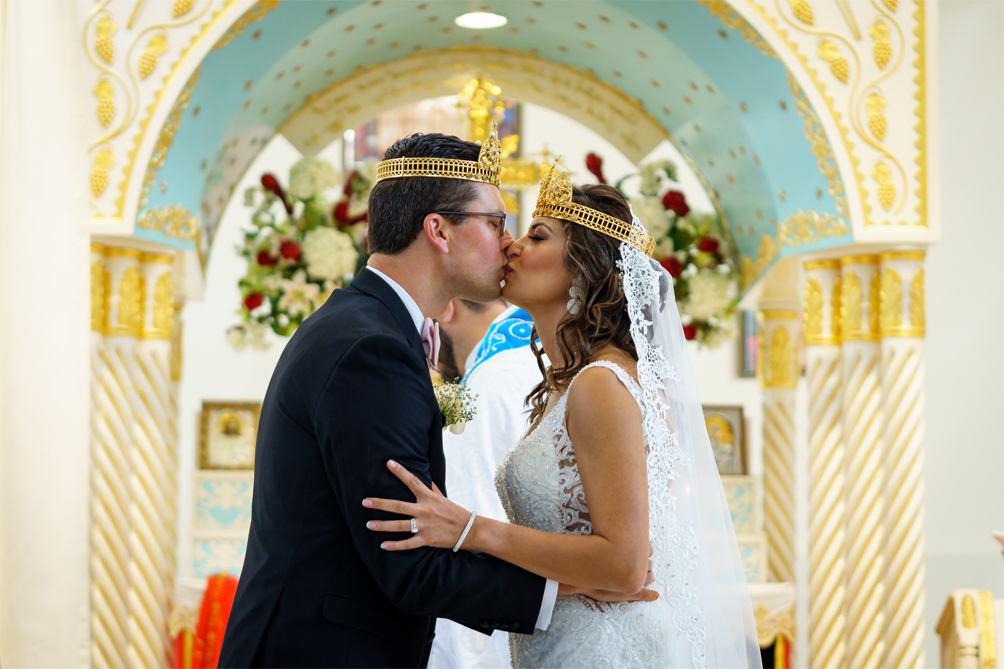 Wedding Photography at St. Mark's Syriac Orthodox Cathedral in Paramus, NJ