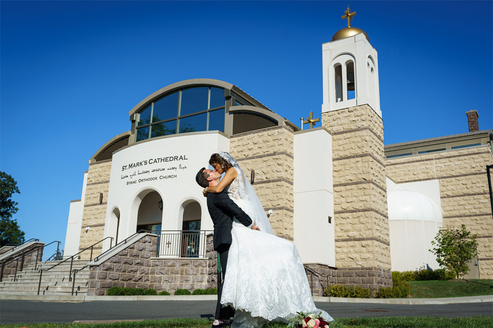 Wedding Photography at St. Mark's Syriac Orthodox Cathedral in Paramus