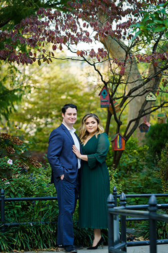 Jersey City Wedding Engagement Session by Alex Kaplan